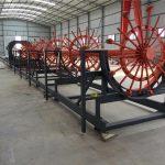 钢桩保持架焊接机,钢筋保持架制造机