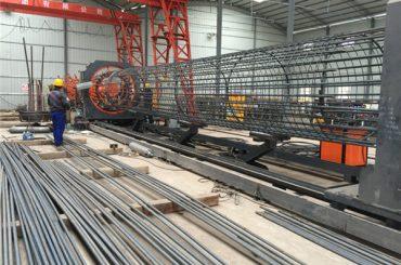 中国制造简单的操作耐用和坚固的质量保证钢筋钢筋笼焊接机和钢筋笼制作