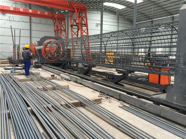 中国制造简单操作耐用坚固质量保证钢筋钢筋笼焊接机和钢筋笼制作